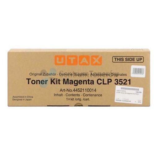Utax oryginalny toner 4452110014, magenta, 4000s, utax clp 3521