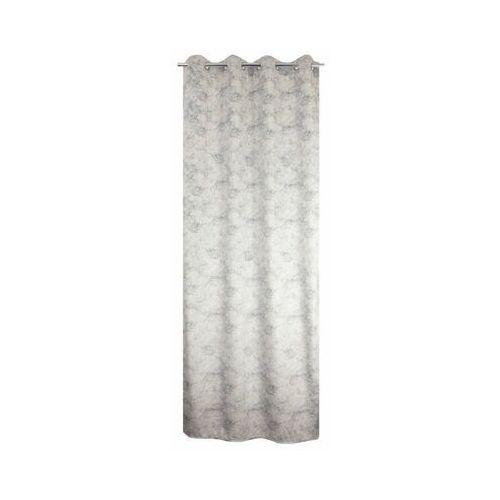 Jby Zasłona marbre szara 135 x 260 cm na przelotkach (3599520136216)