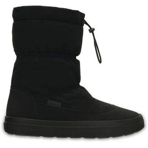 śniegowce lodge point pull on boot nylon 41-42 (w10) marki Crocs