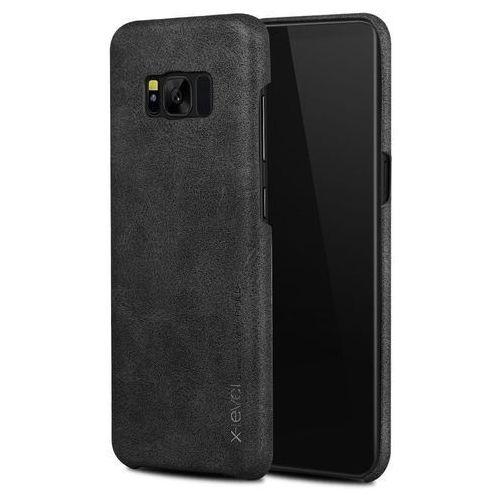 Etui X-Level Vintage Samsung Galaxy S8 Plus Black, kolor czarny