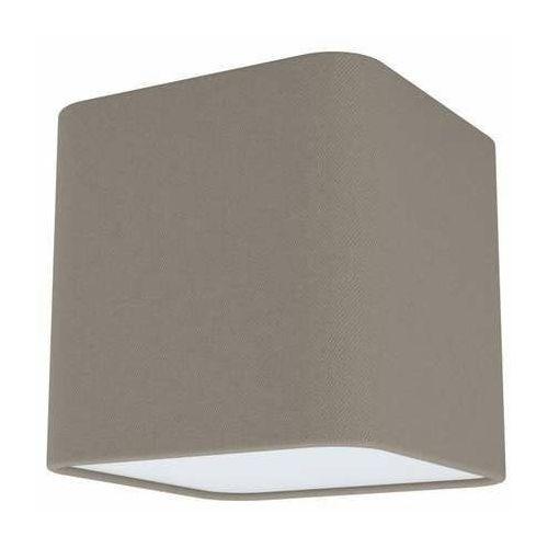 Eglo posaderra 99299 plafon lampa sufitowa 1x28w e27 popielaty/biały (9002759993023)
