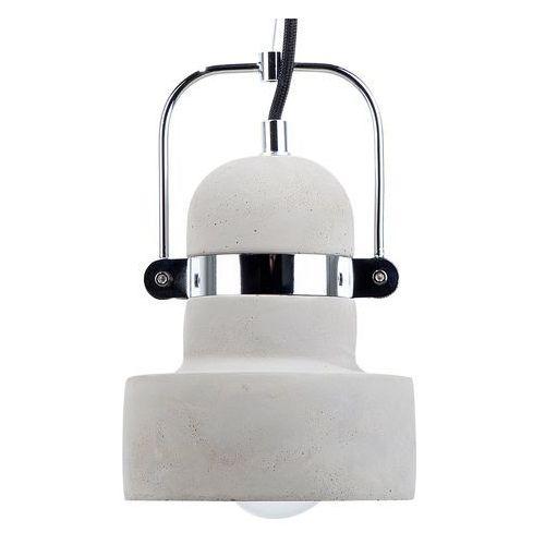 Beliani Lampa szara - sufitowa - żyrandol - lampa wisząca - verde