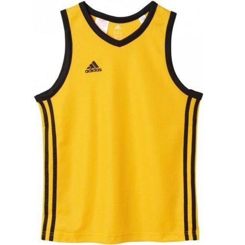Koszulka koszykarska adidas Commander Shoot Junior G91754 izimarket.pl, kolor Żółty