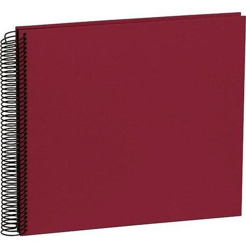 Album na zdjęcia Uni Economy czarne karty średni burgund, 352916