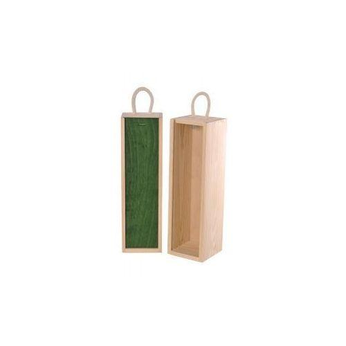 V1 skrzynka upominkowa naturalna/zieleń