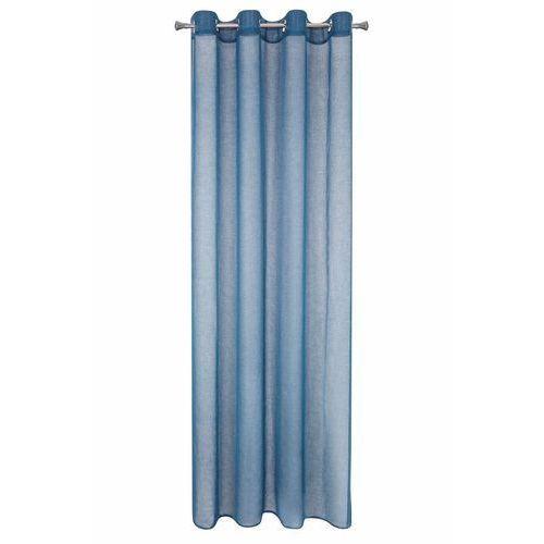 Eurofirany Firana gotowa niebieska siatka 140 cm x 250 cm (5900811674047)
