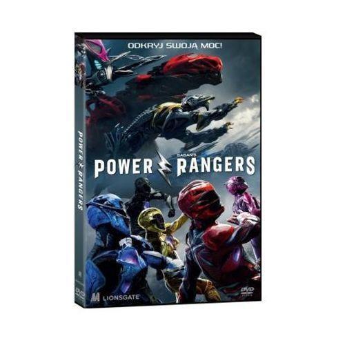 Power rangers (dvd) + książka marki Monolith