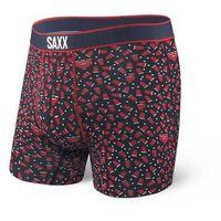 Bokserki męskie vibe boxer modern fit - czarno-bordowy marki Saxx