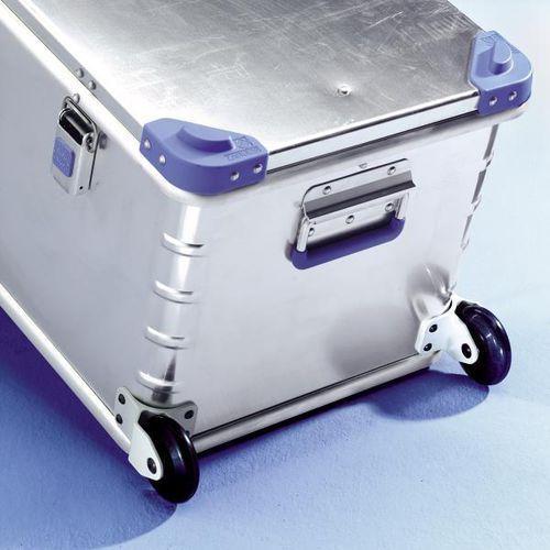 Zarges Dodatkowe rolki, 1 para, nośność 50 kg na parę, Ø kółka 75 mm. rolki z poliureta