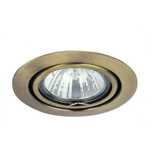 Oczko lampa sufitowa oprawa wpuszczana Rabalux Spot relight 1X50W GU5.3 12V brąz 1095 (5998250310954)