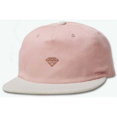 Diamond Czapka z daszkiem - micro 2tone brilliant snapback pink (pnk) rozmiar: os