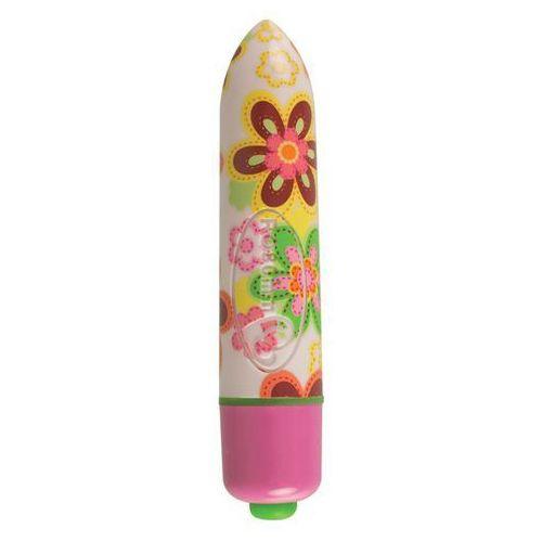 - wibrator pocisk - ro-80mm 7 speed flower print marki Rocks-off