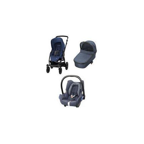 W�zek wielofunkcyjny 3w1 Stella + Cabrio Fix Maxi-Cosi + GRATIS (River Blue)