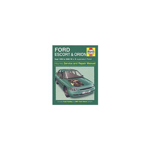 Ford Escort and Orion Service and Repair Manual (9781859607633)