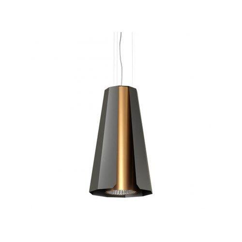 Lampa wisząca alamak 1389bw1/962/116 czarna marki Cleoni