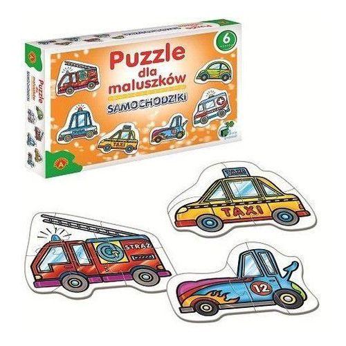 Alexander Puzzle dla maluszków samochodziki 005370 (5906018005370)