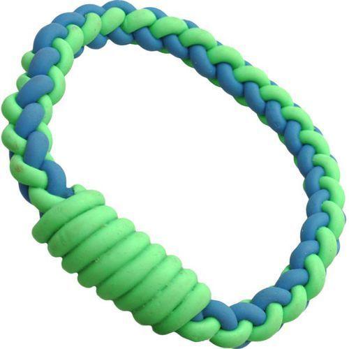 Małe ringo dla psa wykonane z plecionej, mocnej gumy marki Gumgum