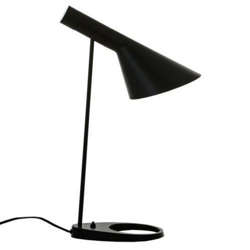 Italux Biurkowa lampka stojąca volta mte2020/1-black  minimalistyczna lampa stołowa czarna