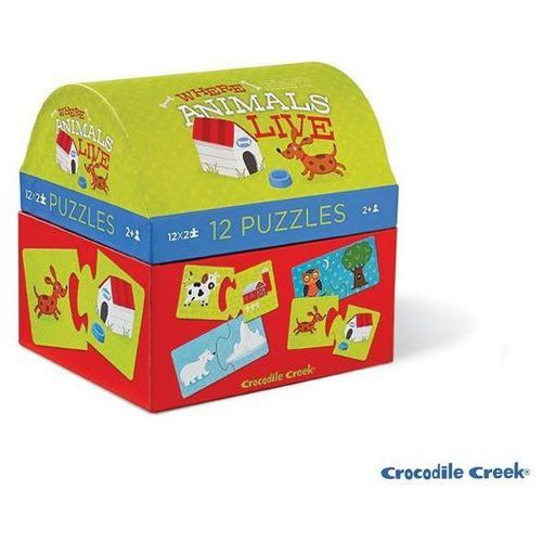 Puzzle Gdzie żyją zwierzątka? 12