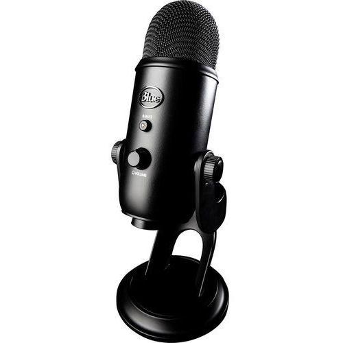 OKAZJA - Mikrofon usb yeti blackout, rodzaj transmisji danych: przewodowa podstawka marki Blue microphones