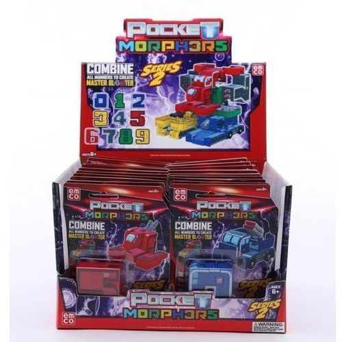Tm toys Figurka pocket morphers figurki mix ii