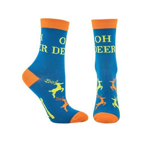 Skarpetki Freak Feet JLREN-BLU, bawełna