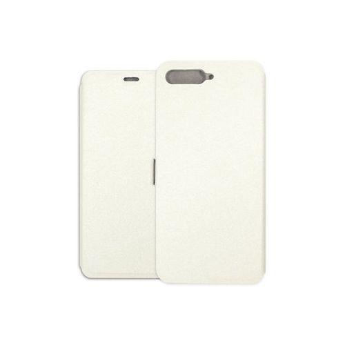 Huawei Y6 (2018) - etui na telefon Wallet Book - biały, ETHW710WLBKWHT000