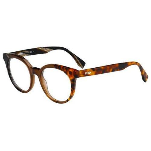 Okulary korekcyjne  ff 0065 by the way nei marki Fendi