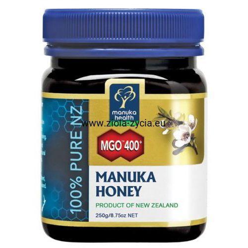 Miód Manuka MGO™ 400+ nektarowy 250g - Manuka Health, 23108497