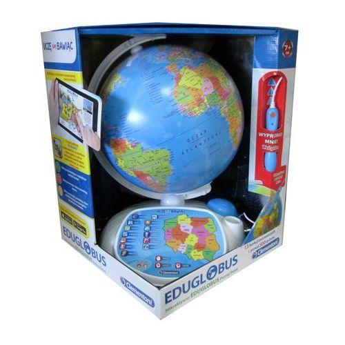 Interaktywny eduglobus. poznaj świat, marki Clementoni