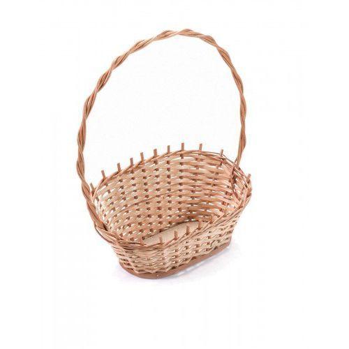 Wyroby z wikliny pph jan wnuk Wiklinowy kosz prezentowy na kwiaty prezenty (5904906036499)