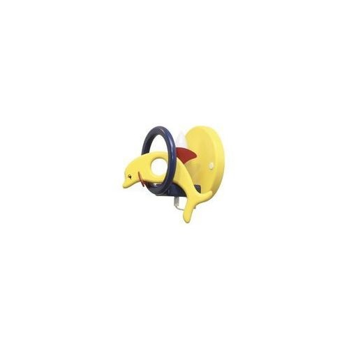 Kinkiet dziecięcy DELFIN żółty /niebieski 1xE14/40W (5908218910553)