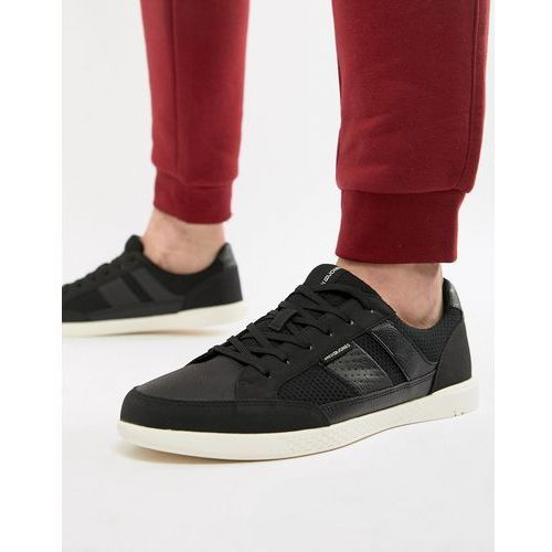 Jack & jones lace up trainers - black