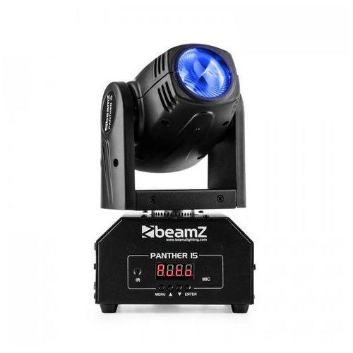 Beamz Panther 15 Pocket Ruchoma głowica typu spot 4-w-1 diody CREE LED 10 W