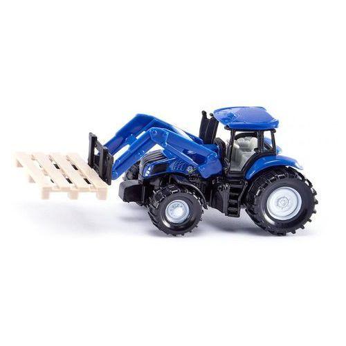 Siku  traktor z widłami do palet (4006874014873)