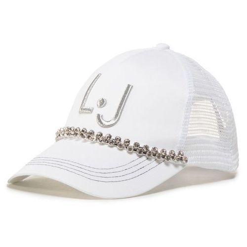 Czapka z daszkiem LIU JO - Cappello Tessuto TA0230 T0300 Bianco Ottico 11111