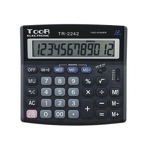 Kalkulator toor tr2242 12 pozycyjny marki Toor electronic