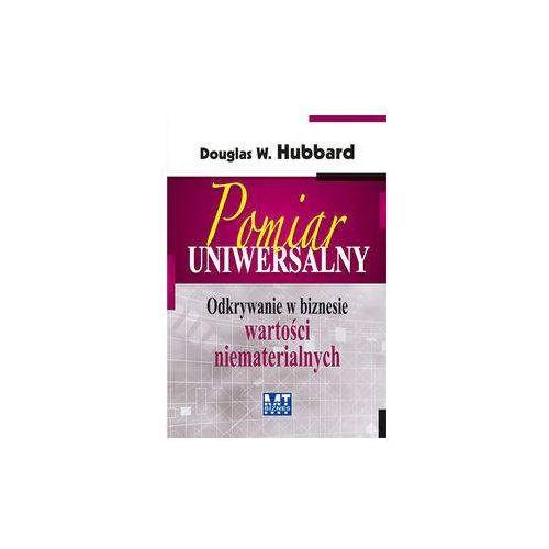Pomiar uniwersalny - Hubbard Douglas W. (9788361732631)