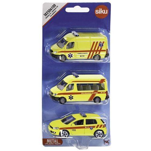 Zestaw pojazdów pogotowie marki Siku