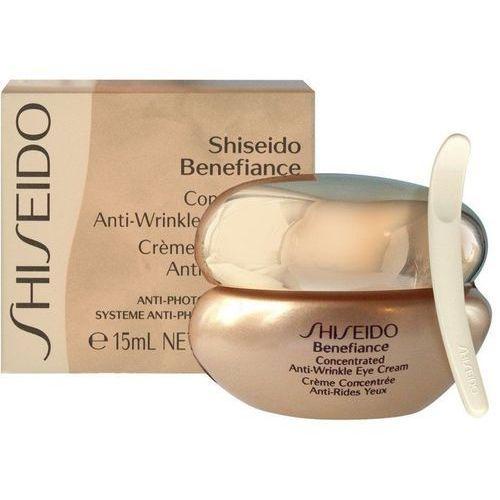 Shiseido Benefiance Concentrated Anti-Wrinkle Eye Cream przeciwzmarszczkowy krem pod oczy 15ml, 1049 - OKAZJE