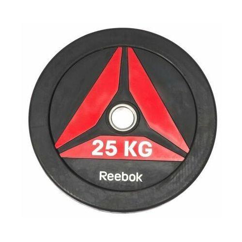 Talerze bumper plate 25kg - 25 kg marki Reebok