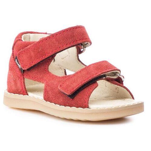Sandały MRUGAŁA - Hugo 1106/9-23 Ruby, kolor czerwony