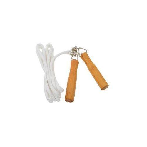 Skakanka LIFEFIT Wood Rope, dl. 280cm Brązowe