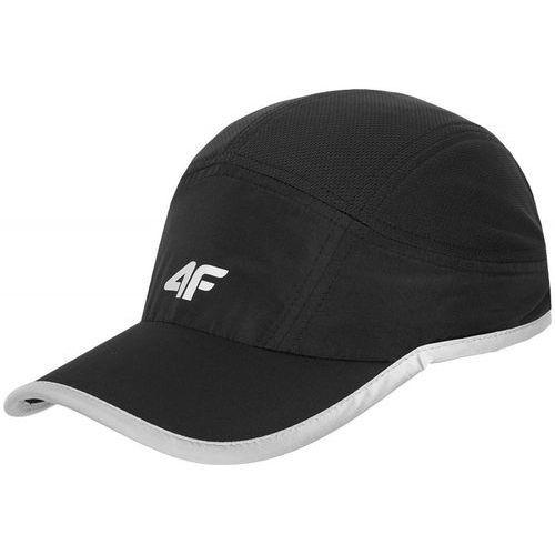 4f [c4l16-cam200] czapka z daszkiem męska cam200 - czarny