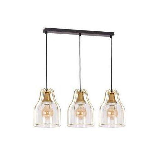 Luminex Aria 7922 lampa wisząca zwis 3x60W E27 złoty (5907565979220)