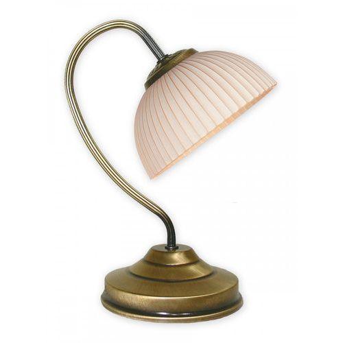 Bravo lampka stołowa 1 pł. / patyna, Dodaj produkt do koszyka i uzyskaj rabat -10% taniej! (5907176570885)