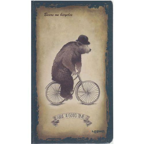 Notes 96 kartek miś niebieski - INCOOD (5902349942698)