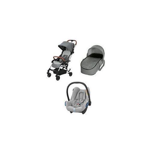 W�zek wielofunkcyjny 3w1 laika + cabrio fix (nomad grey) marki Maxi-cosi