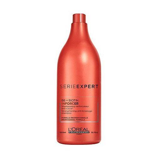 OKAZJA - inforcer szampon do włosów łamliwych 1500ml marki Loreal