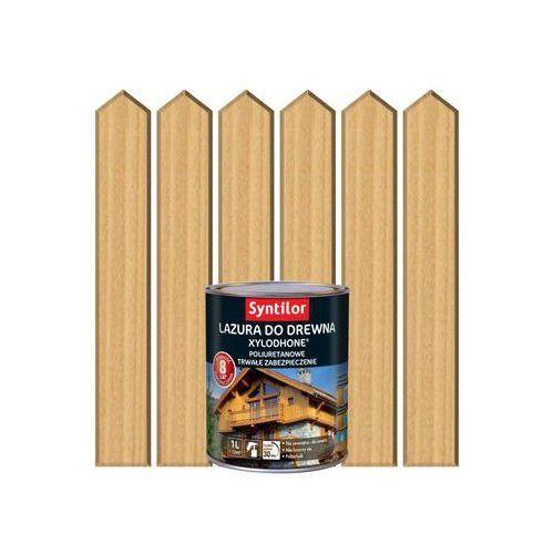 Lazura do drewna xylodhone hp 1 l bezbarwny marki Syntilor